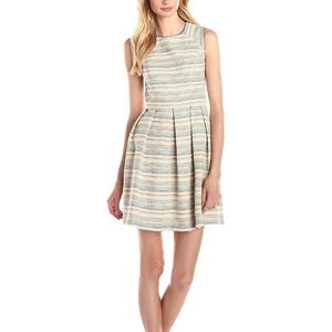 Shoshanna Bridgette Prism Tweed Fit & Flare Dress